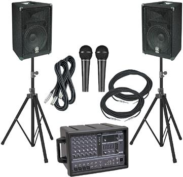 can police seize sound equipment